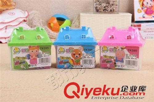幼儿用品 批发香味彩泥 小房子带模具安全无毒橡皮泥