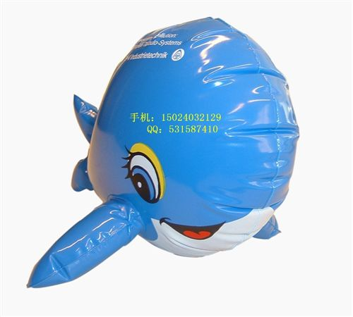 充气动物类 pvc充气海豚