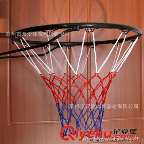 查看体育绳网 生产厂家订制【外贸出口】手工编织纯涤纶扁绳篮球网