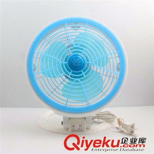 夏季热销 静音台式学生扇电风扇两档全塑折叠扇二档风速8寸台式扇迷你