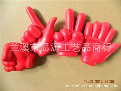 旅游工艺品 厂家直销优质新颖 中国好声音>pu手指棒,pu手势棒