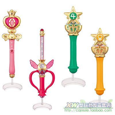 产品类型 万代正版美少女战士变身器2 手杖星月棒魔法杖20周年 批发