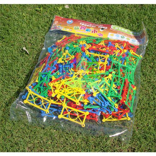 桌面玩具/积木 花仙子 桌面拼插 塑料积木 儿童 幼儿园/早教益智玩具