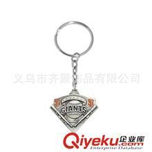 钥匙扣系列 旧金山巨人队标志钥匙圈批发 球迷专属钥匙配饰批发 混款混批