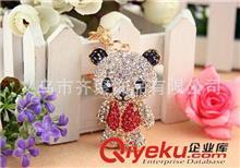 钥匙扣系列 卡通精品女式礼品钥匙扣 韩国流行可爱小熊猫钥匙扣 混款混批