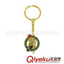 钥匙扣系列 篮球运动小商品批发 凯尔特人球队标志钥匙圈 混款混批