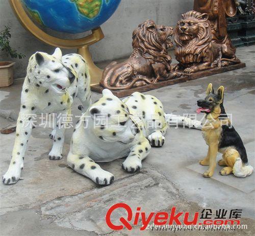 生物园,动物模型系列 动物园厂家专业生产仿真动物 豹子 金钱豹 花豹