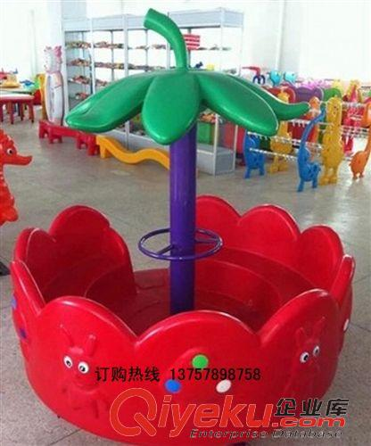 荡船/秋千架/转椅 新款幼儿园树叶转椅室内外手推转椅
