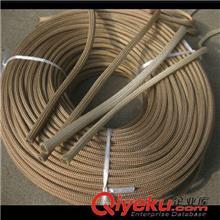 内纤外胶管 耐高温玻璃纤维管 热流道保护套管 耐温600度 粗纱定纹管