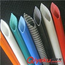 内纤外胶管 供应定做各种颜色 内纤外胶套管 耐温隔热 玻纤管 H级电机套管