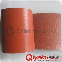 内纤外胶管 【上海炽信】供应定制绝缘硅胶布 耐高温 玻纤硅橡胶缠带