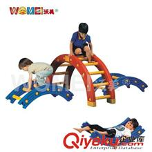感统训练组合系列 幼儿园儿童体能感统训练器材 (1/4圆) 四分之一圆 亲子园平衡板