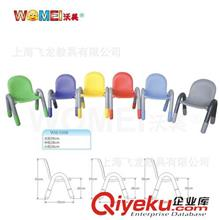 儿童家具系列 厂家直销幼儿园塑料椅子儿童椅子幼儿桌椅儿童桌椅加厚靠背椅高档
