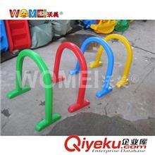 塑料玩具 幼儿园感统训练器材钻洞隧道如意塑料钻圈 幼儿游戏体育器械钻圈