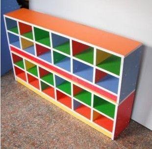 儿童防火板收纳系列 可定做 幼儿园鞋柜 木制鞋柜 儿童鞋柜 防火板