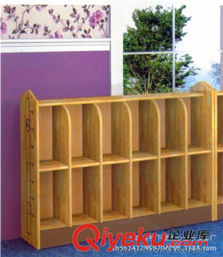 幼儿园木质玩具柜