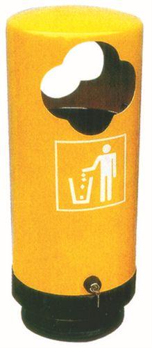 手工长方形垃圾桶做法