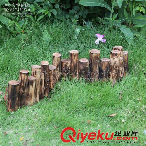 碳化烤木桩 防腐木栅栏花器