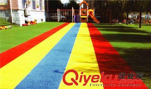 彩色人造草坪景观休闲人造草坪足球场草坪塑胶跑道