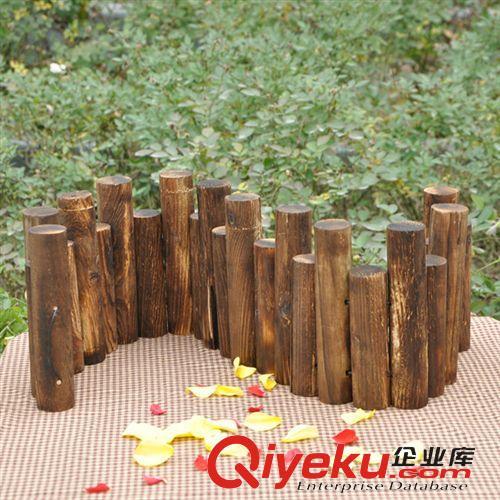 花器 花瓶批发 20cm高木桩栅栏 创意优质可连续延伸加长 花园庭院围墙