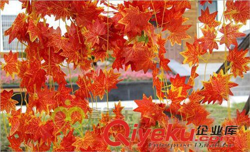 仿真藤条 幼儿园教室天花板布置装饰树叶藤蔓仿真