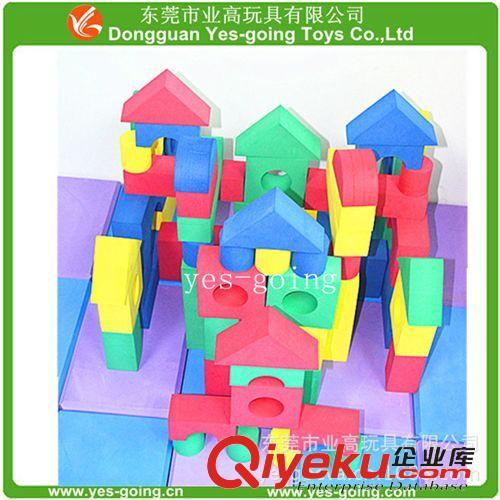 益智玩具 建构系列 地面搭建积木-巨型大eva积木砖软体木纹积木