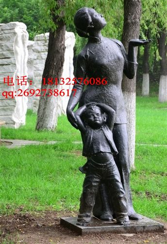 铜雕塑图片由保定市艺之林雕刻艺术有限公司提供,艺林城市园林景观
