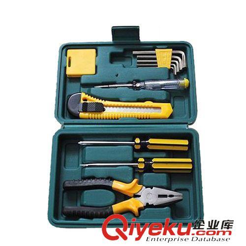 汽车安全应急类 车载五金维修工具 11件套 汽车应急工具箱组合套装 修车工具