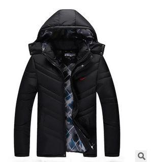 冬季男款運動棉衣 包郵2014冬季棉衣男士加絨加厚棉衣開衫舒適保暖圖片