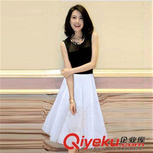连衣裙 韩国东大门女装新款高圆圆明星同款套装连衣裙女