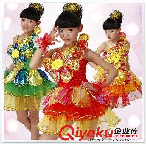 新款儿童演出服装