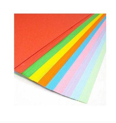 园手工材料 幼儿园卡纸彩色厚4k卡纸