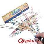 运动玩具 9987儿童怀旧经典益智玩具游戏棒木制撒棒桌面游戏类挑棍棒批发80