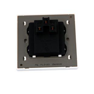 开关面板 fsl佛山照明 16a墙壁插座三孔 电源开关插座