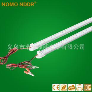 本周新品 led日光灯t4低压12/5vled硬灯条灯管 带线铁