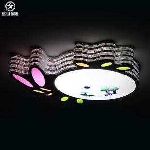 女孩房间活泼可爱小动物兔子led吸顶灯幼儿园装饰灯