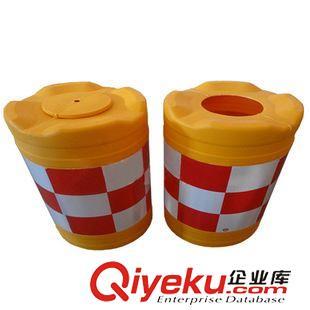 交通设施 交通 大号60*80圆形防撞桶 塑料隔离墩 水马