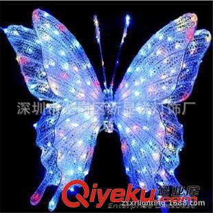 【led滴胶动物造型灯 太阳能蝴蝶蜻蜓飞鸟户外装饰le