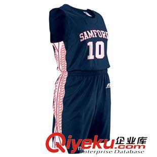 矢量图定制 供应无袖篮球服套装