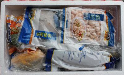 冷冻海鲜礼盒