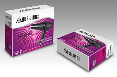 产品包装设计,制作 电吹风包装