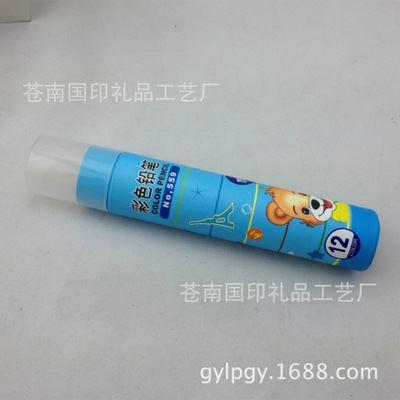 工艺品,礼品 厂家供应笔筒定制 创意彩色铅笔筒印刷制作 纸筒配塑料盖