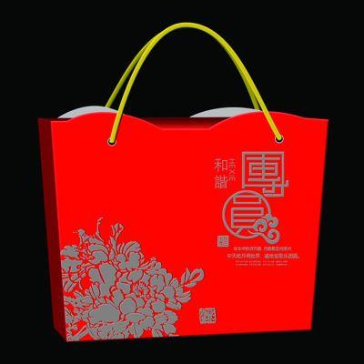 设计 包装手提袋 高档折叠牛皮纸礼品袋子印刷