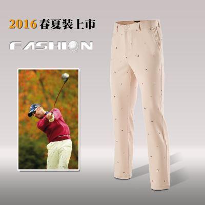 高尔夫服装 厂家生产高尔夫球裤高尔夫长裤 高尔夫服装 男款 休闲球裤OEM定制