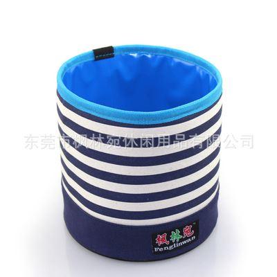 园艺手工创意盆栽水果盘红酒冰桶收纳袋垃圾桶详细参数信息,布艺花盆