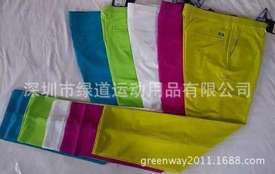 高尔夫服装  品牌休闲男士裤,JL牌多种颜色男士高尔夫秋冬长裤