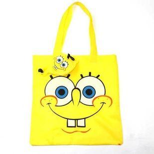 动物系列折叠购物袋 新款卡通动物折叠购物袋环保袋