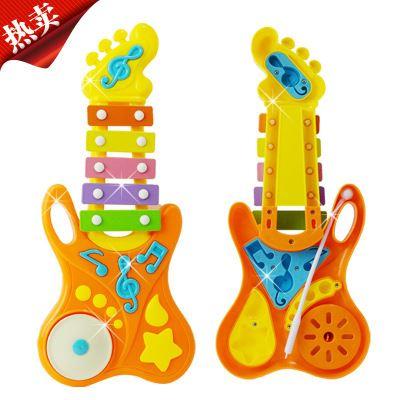 电子琴/学习机 包邮儿童音乐启蒙益智玩具敲琴 宝宝玩具早教乐器 吉它