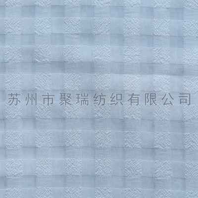 服装面料系列 供应75D雪纺格子涤纶面料 服装 女装女裙 印花布料批发