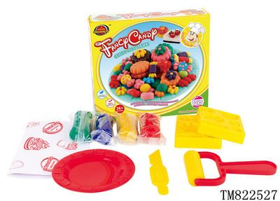 益智类玩具 儿童diy益智玩具动物世界饼干环保彩泥 无毒超轻泥工tm822